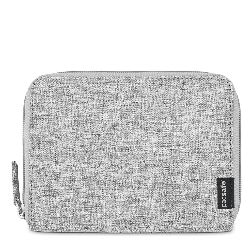 RFIDsafe LX150 RFID Blocking Passport Wallet, Tweed Gray
