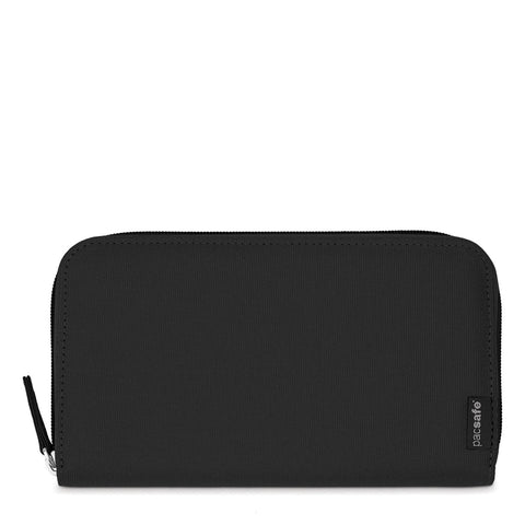 RFIDsafe LX250 RFID Blocking Travel Wallet, Black