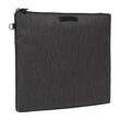RFIDsafe RFID Blocking Large Travel Pouch, Carbon