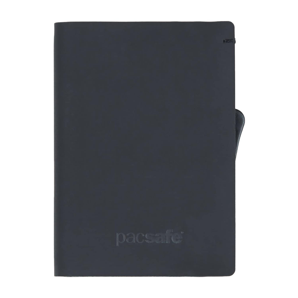 RFIDsafe TEC RFID Blocking Slider Wallet, Black