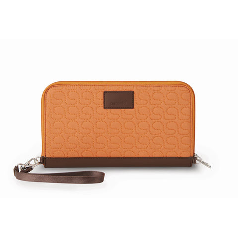 RFIDsafe W250 RFID Blocking Travel Organiser, Apricot