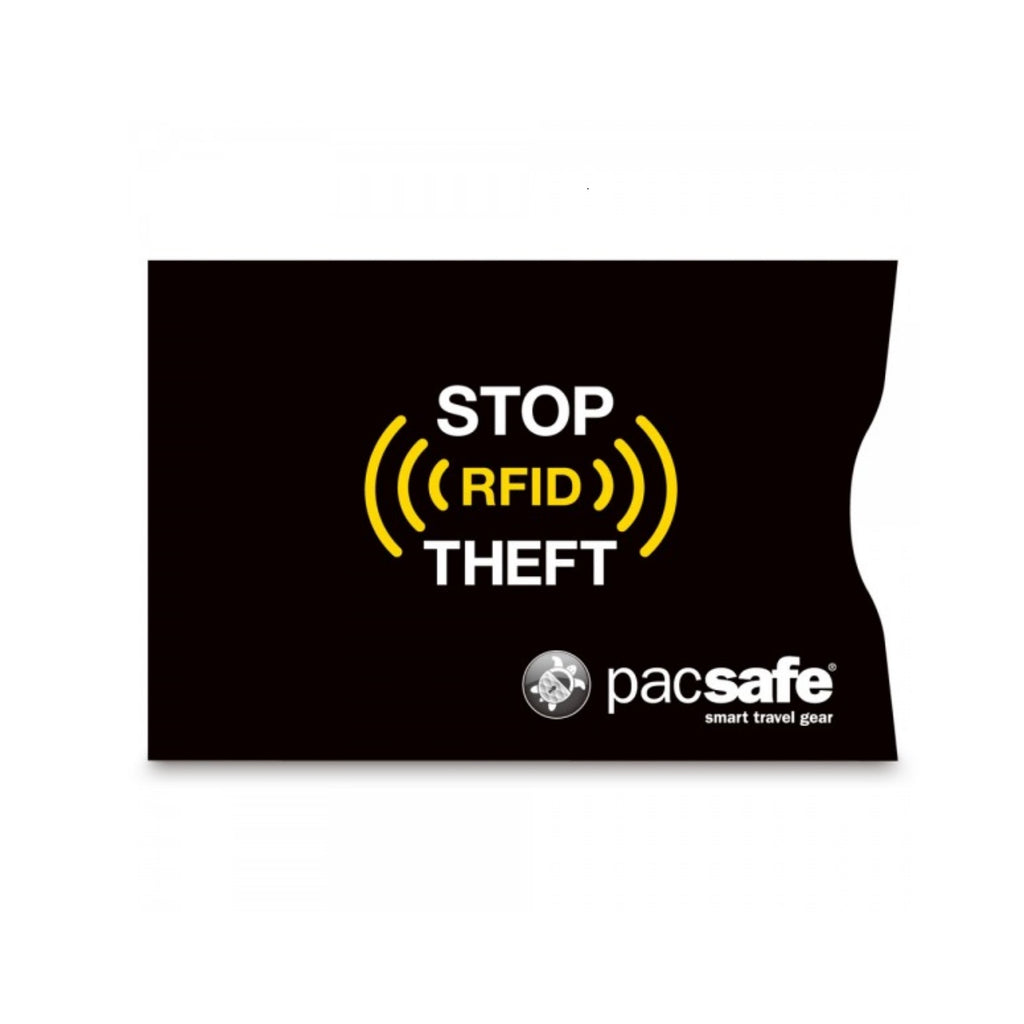 RFIDsleeve 25 RFID-Blocking Card Sleeve (2 Pack), Black