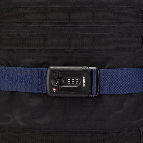 Strapsafe 100 TSA Luggage Strap, Pacsafe Blue