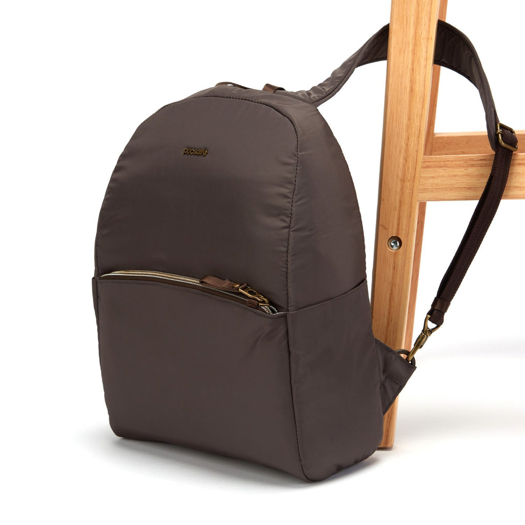 Stylesafe Anti-Theft Backpack, Mocha