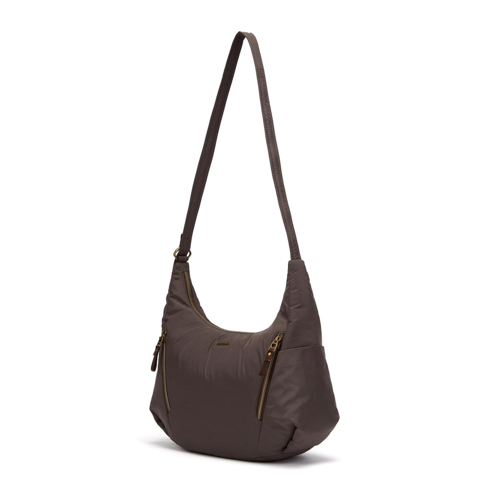 Stylesafe Anti-Theft Convertible Crossbody, Mocha