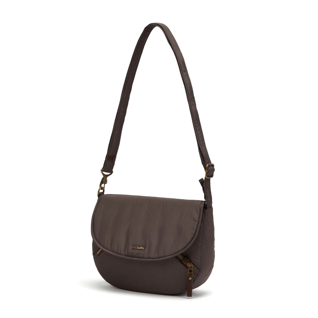 Stylesafe Anti-Theft Crossbody Bag, Mocha