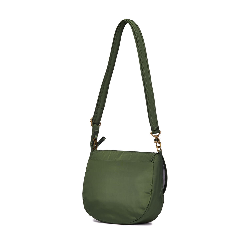 Stylesafe Anti-Theft Crossbody Bag, Kombu Green
