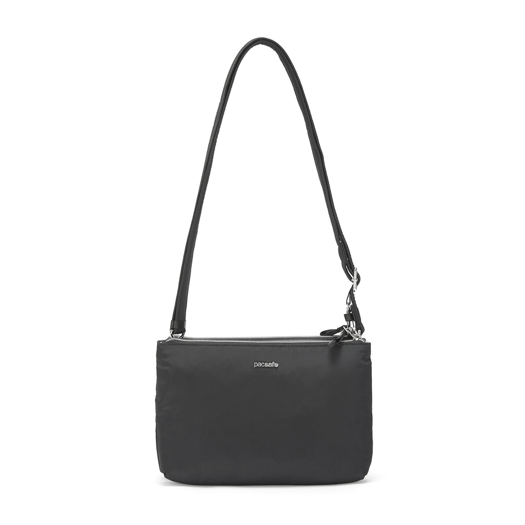 Stylesafe Anti-Theft Double Zip Crossbody Bag