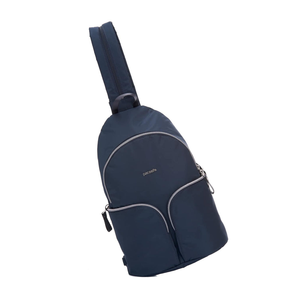 Stylesafe Anti-Theft Convertible Sling To Backpack, Navy