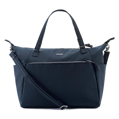 Stylesafe Anti-Theft Tote Bag, Navy