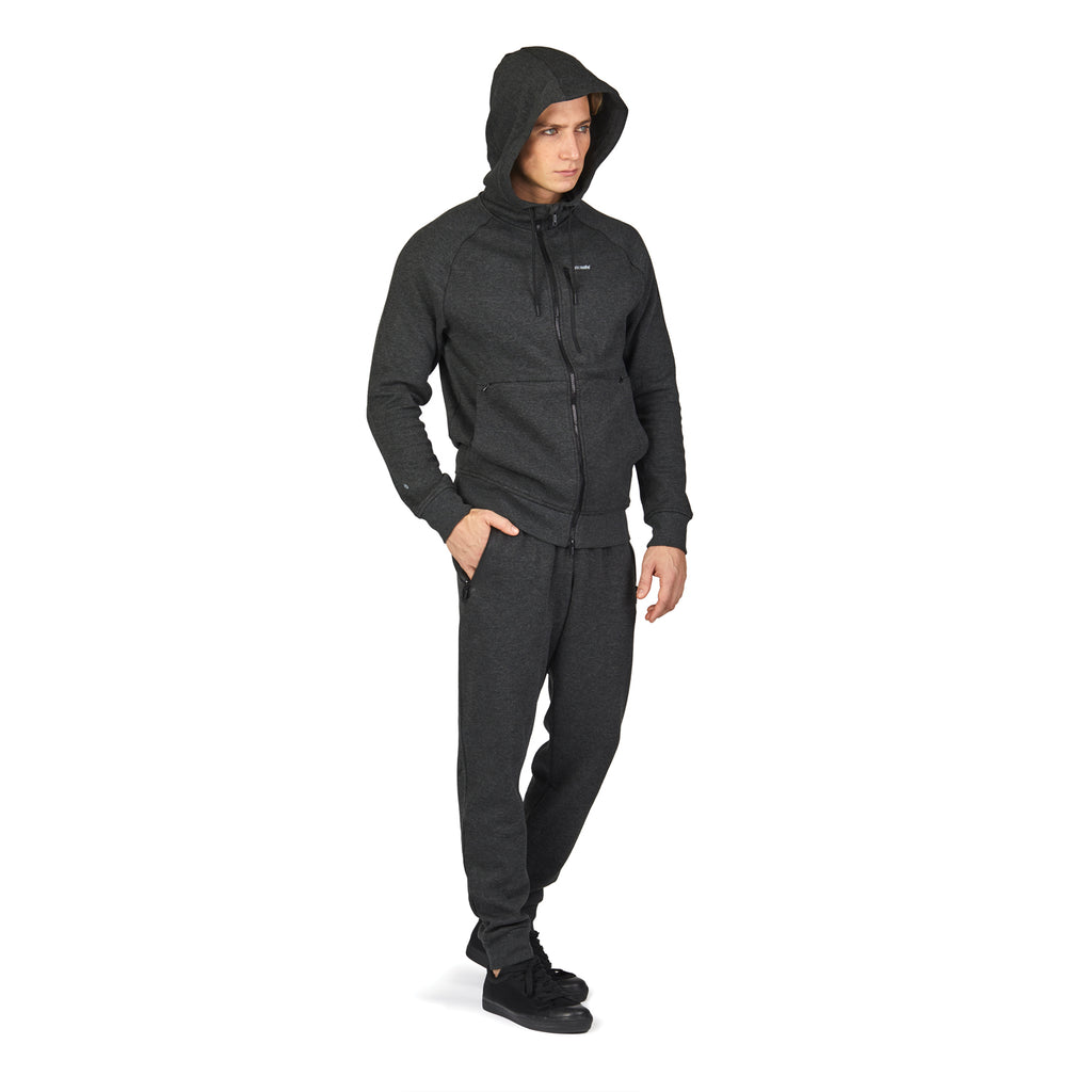 Transit RFID Men's Multi Pocket Travel Hoodie