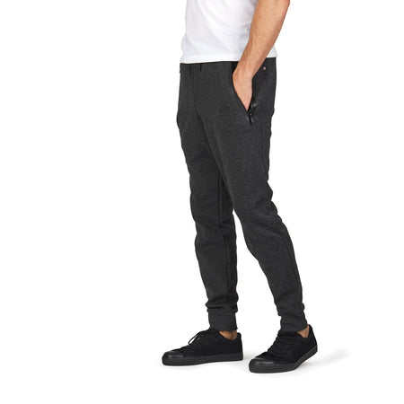 Transit RFID Men's Multi Pocket Travel Pants, Heather Charcoal