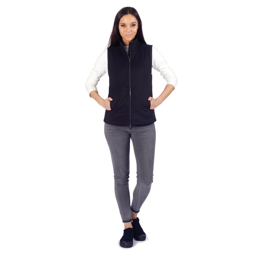 Transit RFID Women's Multi Pocket Insulated Vest