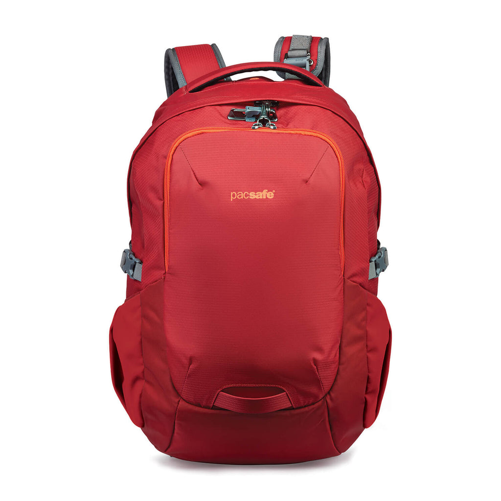 Venturesafe 25L G3 Anti-Theft Backpack, Goji Berry