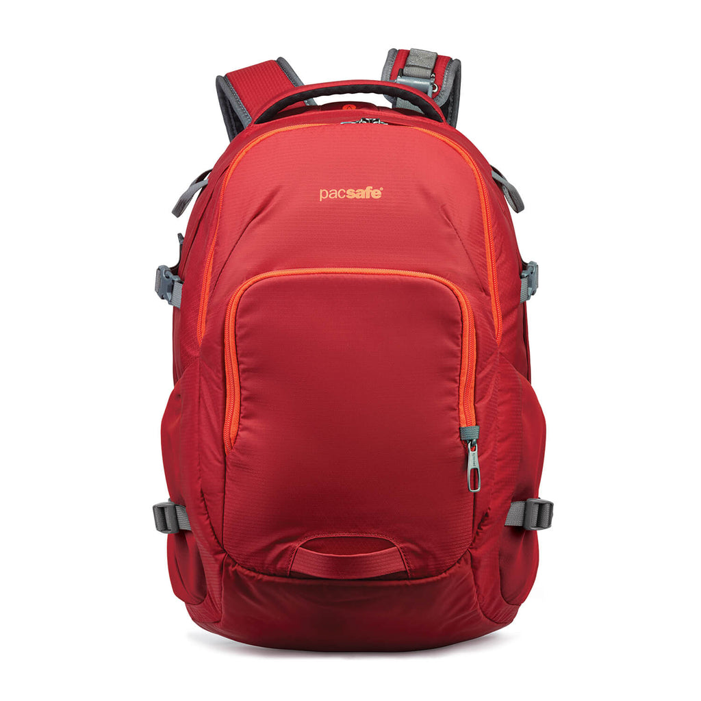 Venturesafe 28L G3 Anti-Theft Backpack, Goji Berry