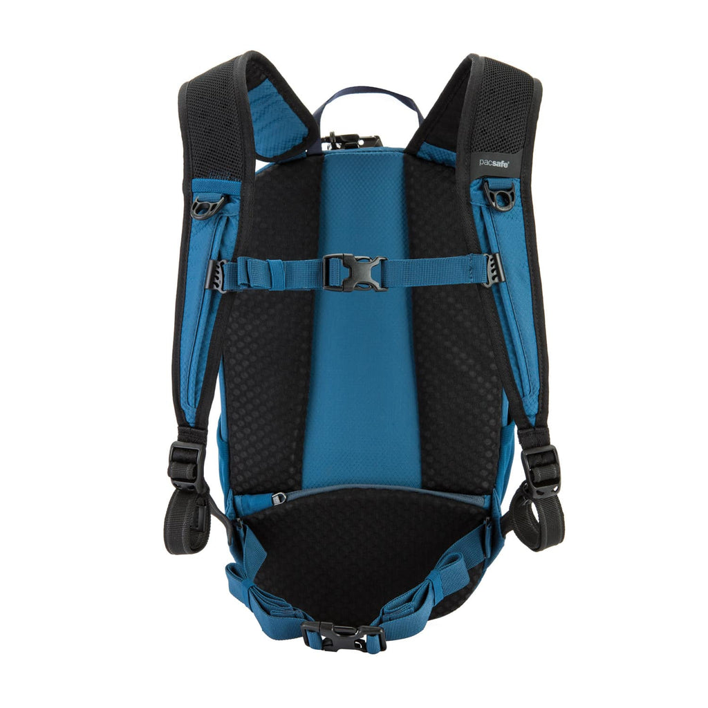 Venturesafe X12 Anti-Theft Backpack, Blue Steel