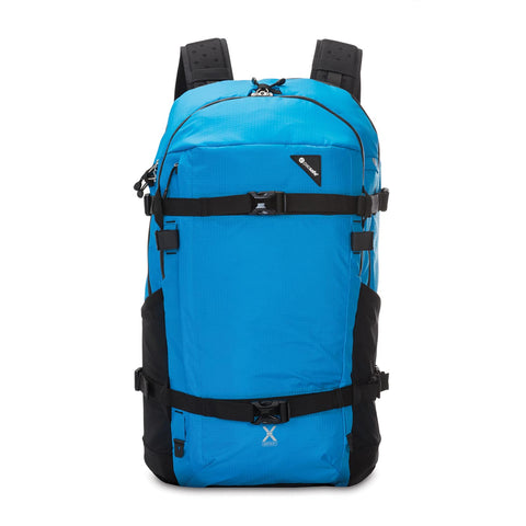 Venturesafe X40 Plus Anti-Theft Adventure Backpack, Hawaiian Blue