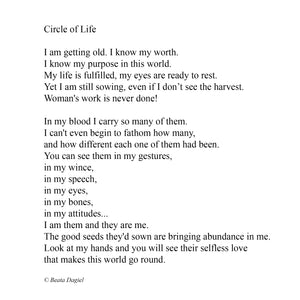 Circle Of Life, Poem by Beata Dagiel