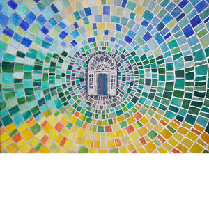 I Have a Dream, Painting on Canvas, Ballymaloe House Door