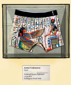 Egyptian Tomb Decorations, c.1225 BCE, Boxer Briefs