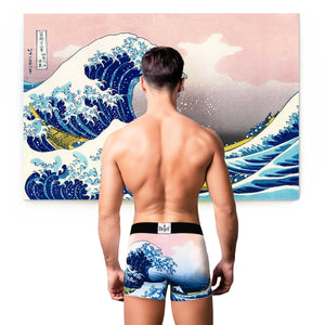 The Great Wave off Kanagawa, 1829 CE, Boxer Briefs