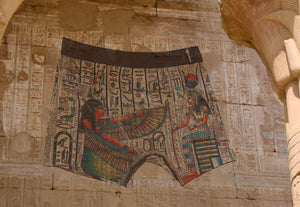 Egyptian Tomb Decorations C.1225 Bce Boxer Briefs - A Brief History - Comfortable Creative Gift Mens Underwear