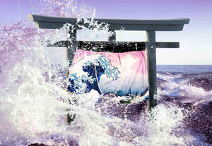 The Great Wave Off Kanagawa 1829 Ce Boxer Briefs - A Brief History - Comfortable Creative Gift Mens Underwear