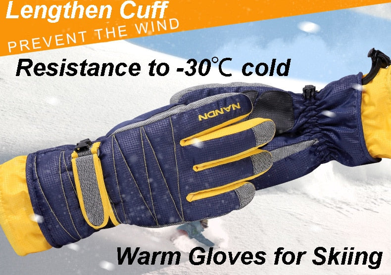 Winter tech waterproof gloves