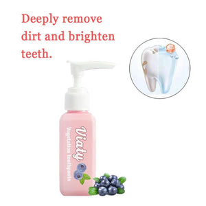 Blueberry whitening toothpaste