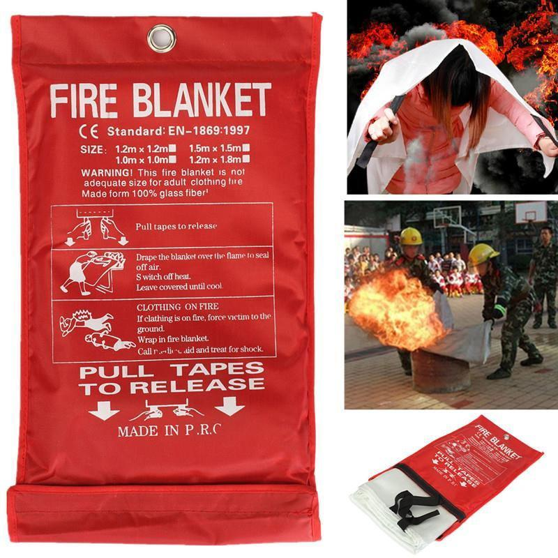 Emergency fire safe blanket - Keep Yourself Safe!