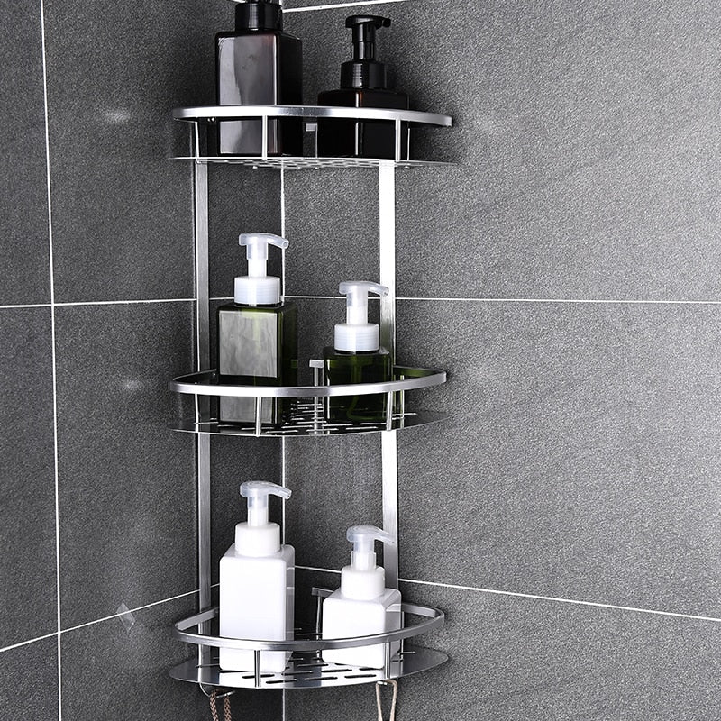Adhesive Corner Shower Shelves