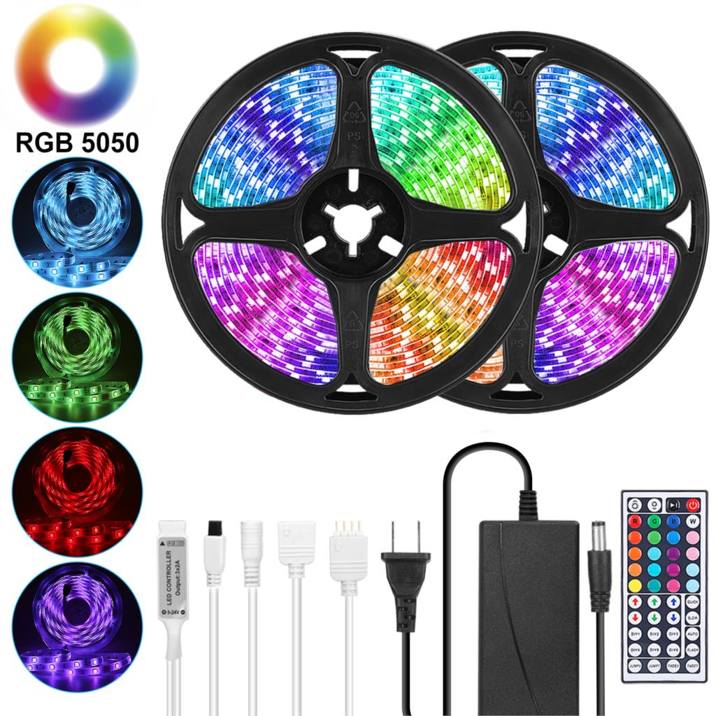 Colorful RGB LED strip lights