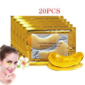 24k Gold Crystal Collagen Eye Mask PatchPad