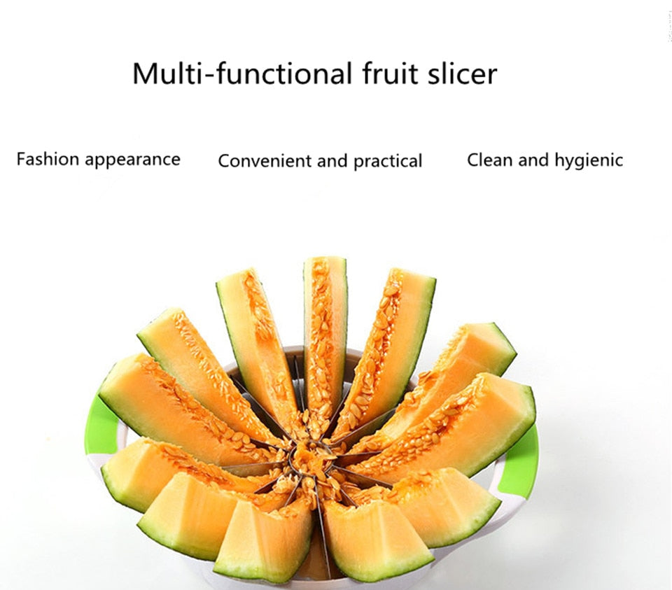 Fruit slicer cutter