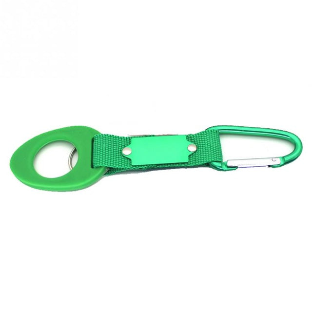 Silicone Buckle Hook Water Bottle Holder Clip Climb Carabiner Belt Backpack Hanger Camp/Key ring Multifunction Outdoor