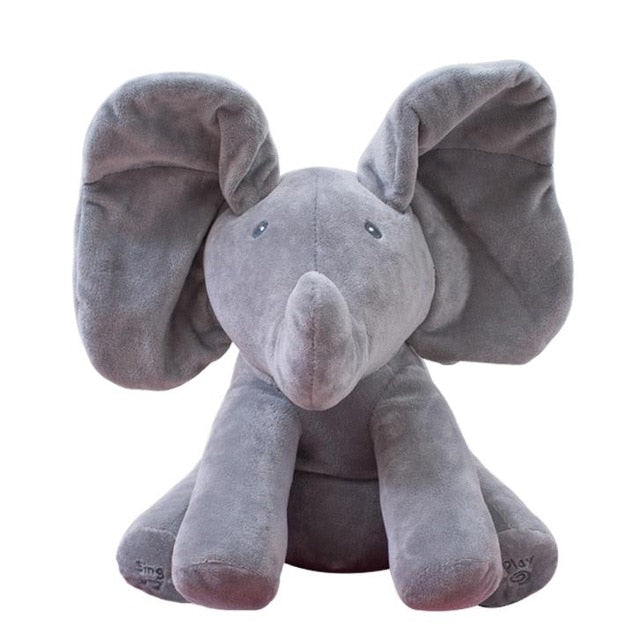 Elephant plush doll