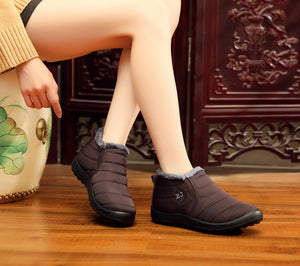 Soft sole warm ankle boots