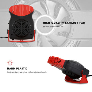 Portable Defrost and defog auto car heater