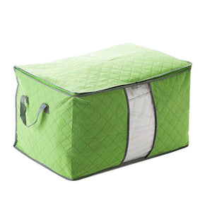 Foldable clothes storage bag