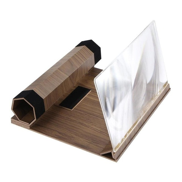 HD Stereoscopic Mobile Phone Screen Magnifier