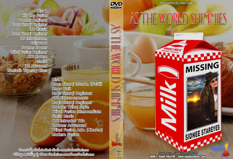 DVD - As The World Shimmies - June 28, 2015