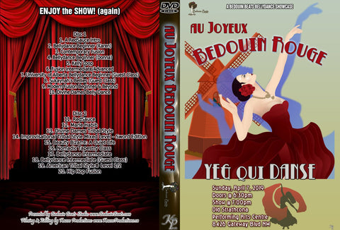 DVD - Bedouin Rouge - April 7, 2019
