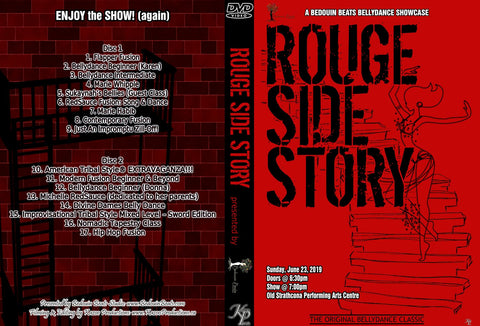 DVD - Rouge Side Story - June 23, 2019