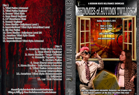 DVD - Shimmies of Autumn Twilight - December 6, 2015
