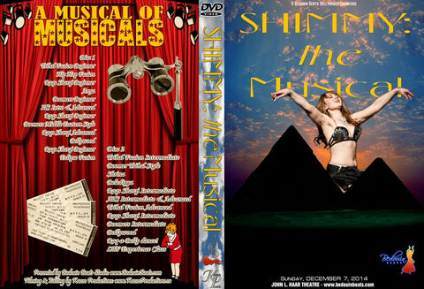 DVD - Shimmy: The Musical - December 7, 2014