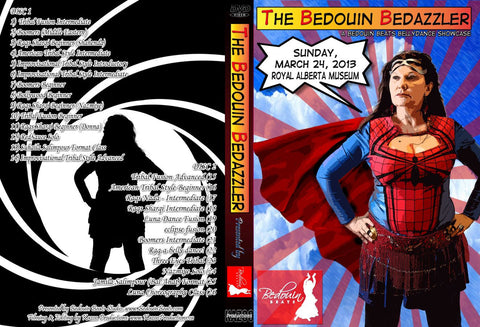 DVD - The Bedouin Bedazzler - March 24, 2013