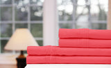 Bamboo Bed Sheet - Race Red