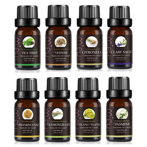 100% Natural Aromatherapy Lemongrass Essential Oil