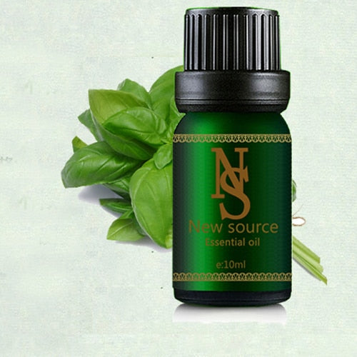 100% Pure Basil Essential Oil 10ml