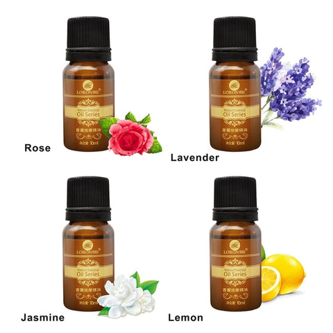 100% Pure Rose Massage Oil 10ml